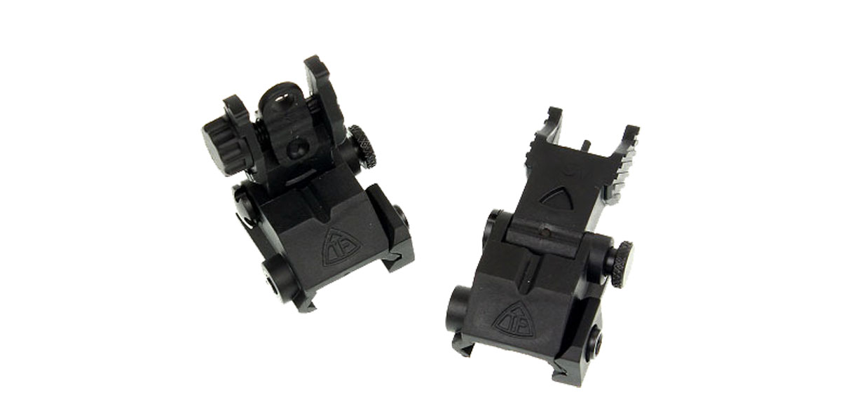 Trinity Force High Density Polymer Flip-Up Iron Sight Set