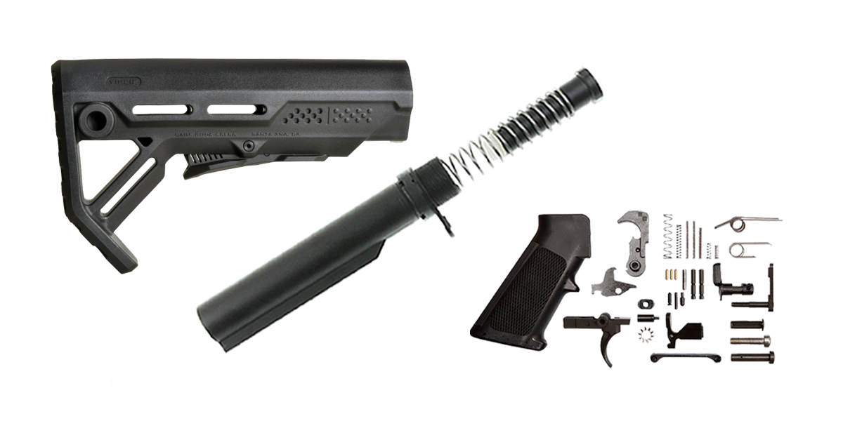 Strike Industries MOD-1 AR-15 Finish Your Lower Rifle Kit