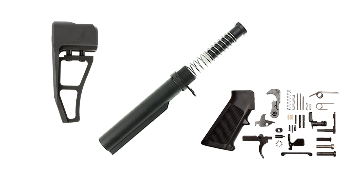 Delta Deals Aim Sports AR-15 Finish Your Lower Rifle Kit