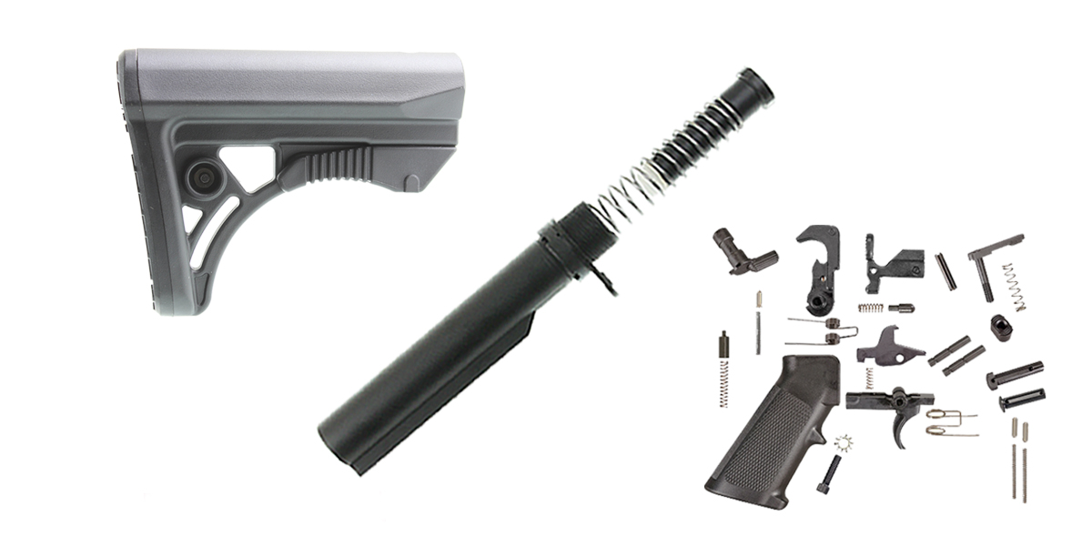 Delta Deals Leapers UTG LR-308 Finish Your Lower Rifle Kit