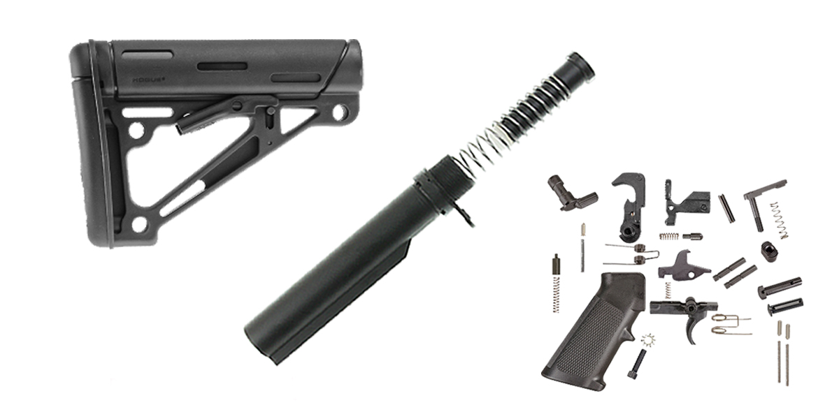 Delta Deals Hogue LR-308 Finish Your Lower Rifle Kit