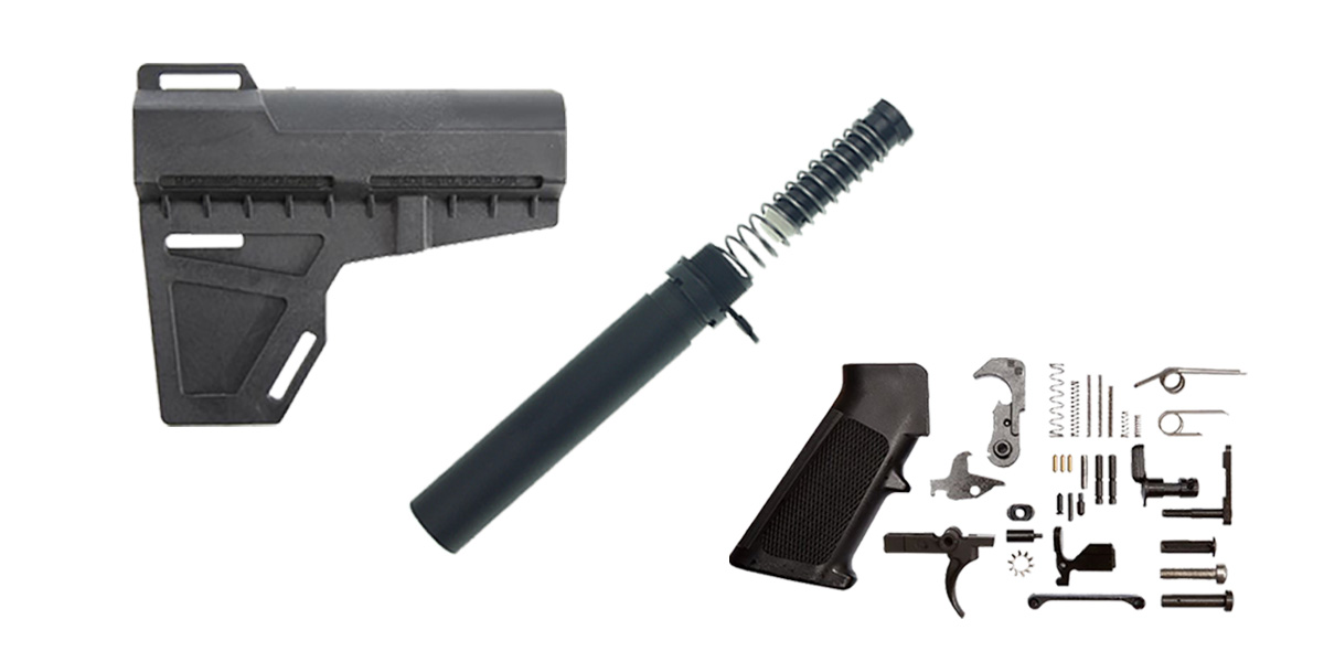 Delta Deals KAK Shockwave AR-15 Finish Your Lower Pistol Kit