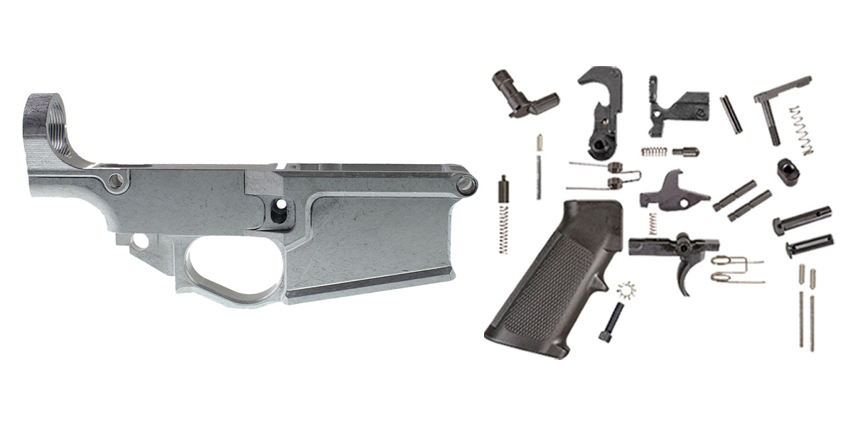Delta Deals Davidson Defense LR-308 80% Billet Lower Receiver + Lakota Ops LR-308 Lower Parts Kit