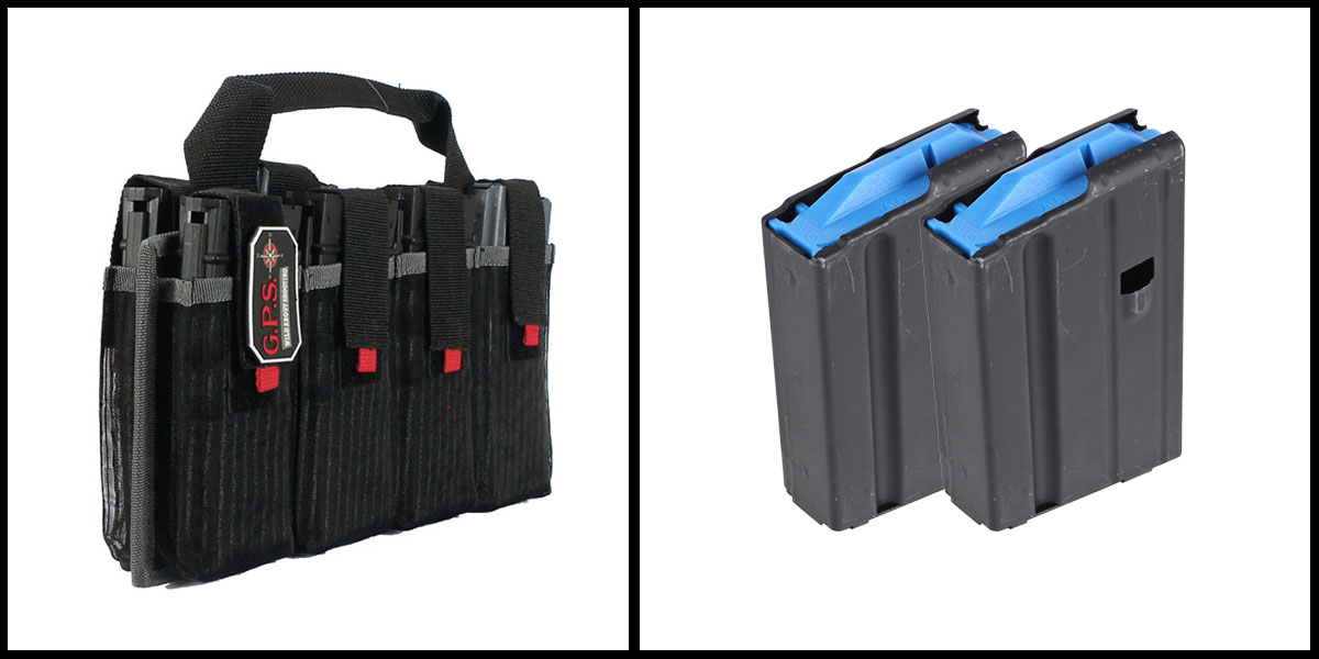 Delta Deals G-Outdoors Inc AR-15 Magazine Tote + ASC Magazine, 6.5 Grendel x2