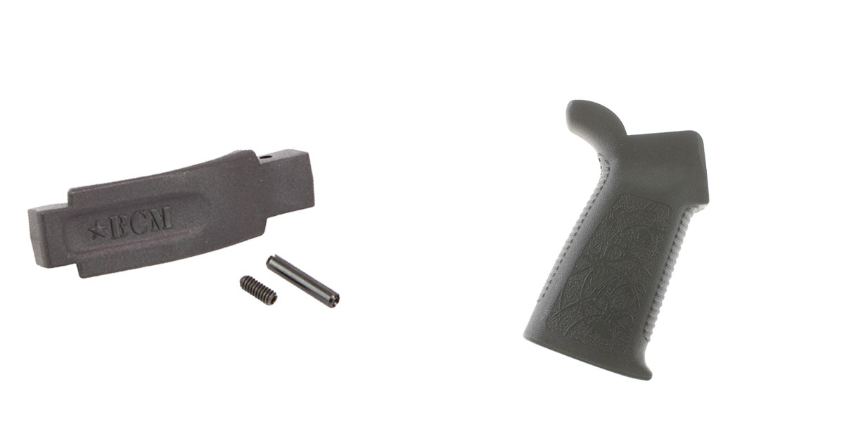 Delta Deals Enhanced Trigger Guard + Pistol Grip: Featuring BCM and Spikes Tactical