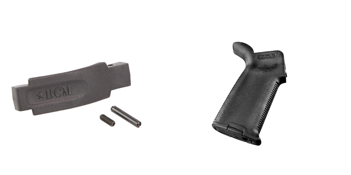 Delta Deals Enhanced Trigger Guard + Pistol Grip: Featuring BCM and Magpul