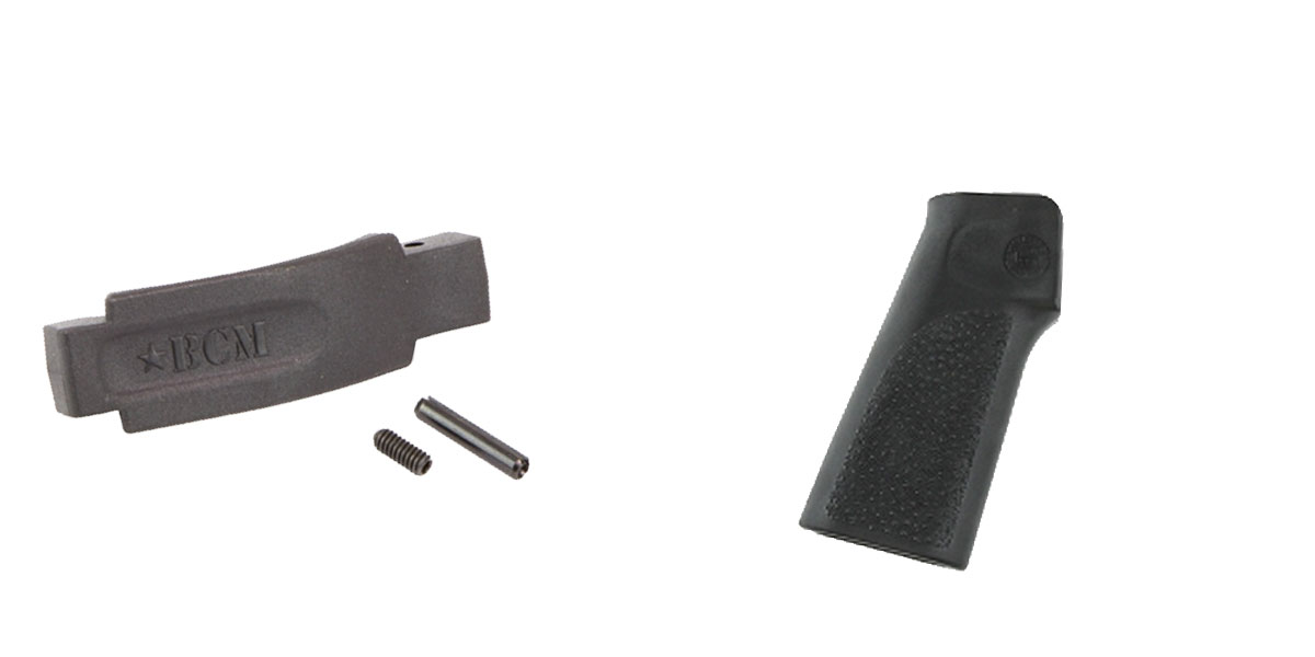 Delta Deals Enhanced Trigger Guard + Pistol Grip: Featuring BCM and Hogue