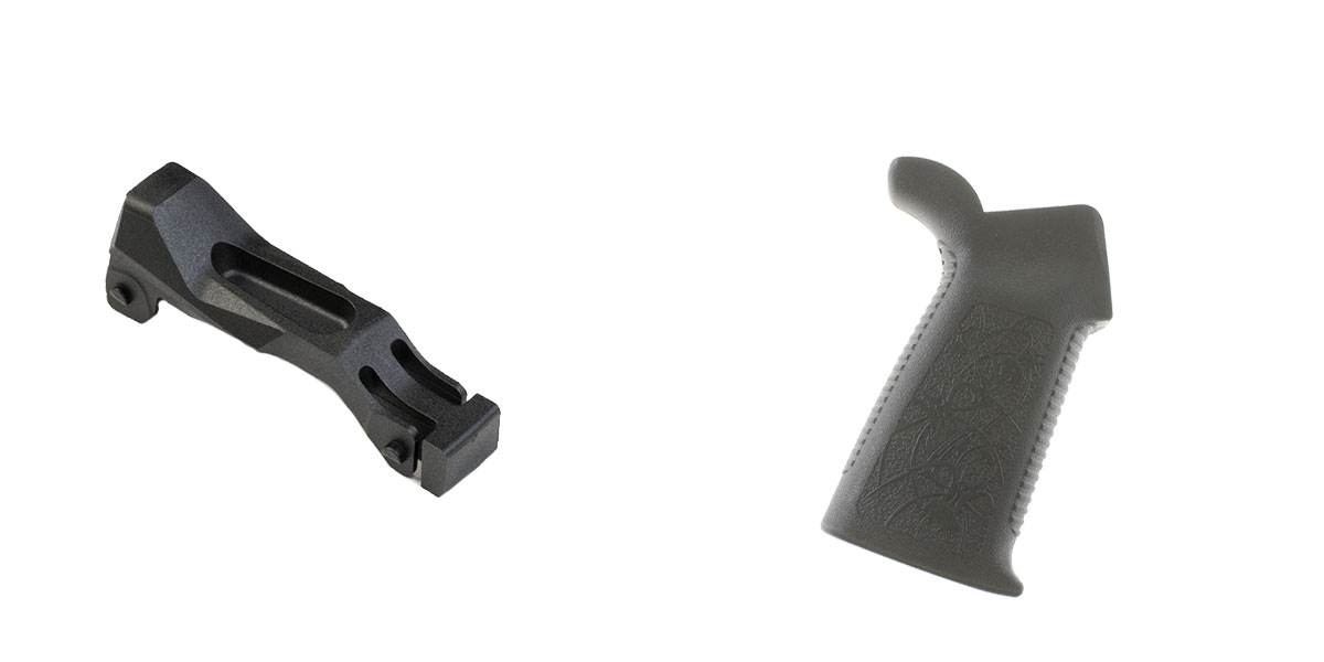 Delta Deals Enhanced Trigger Guard + Pistol Grip: Featuring Strike Industries and Spikes Tactical