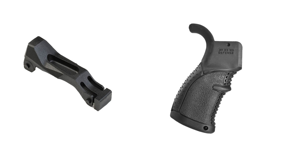 Delta Deals Enhanced Trigger Guard + Pistol Grip: Featuring Strike Industries and FAB Defense