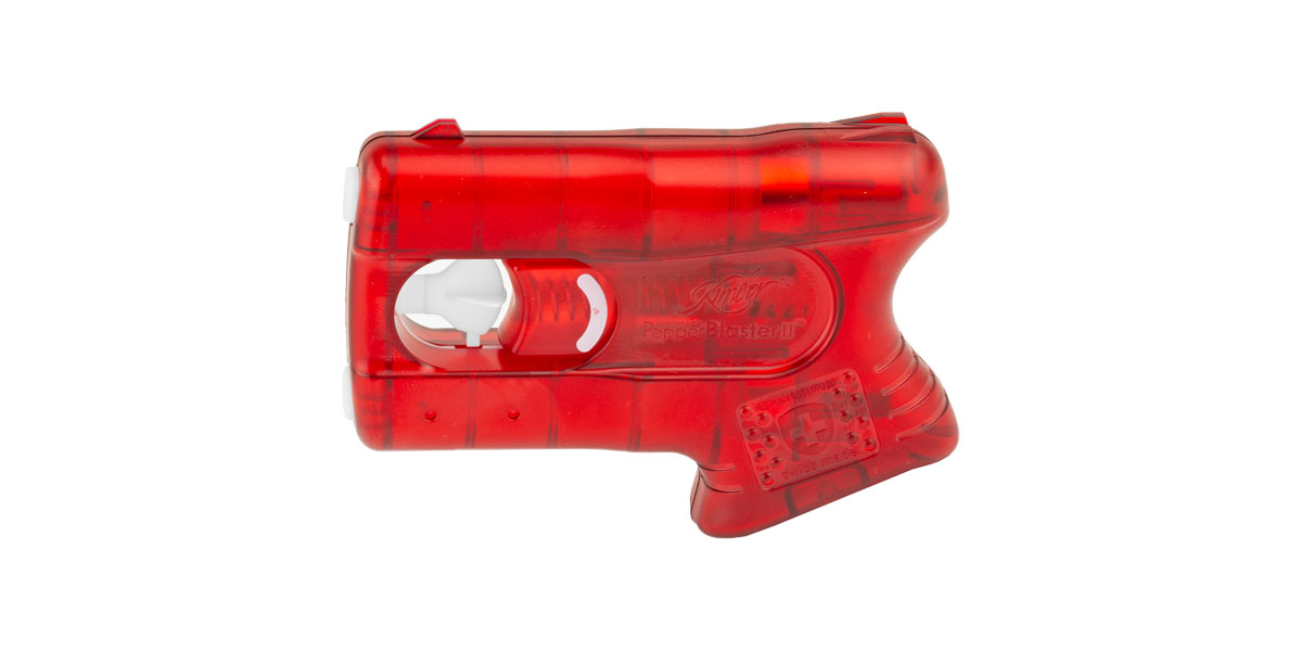 Kimber, Pepperblaster II Pepper Spray, Red