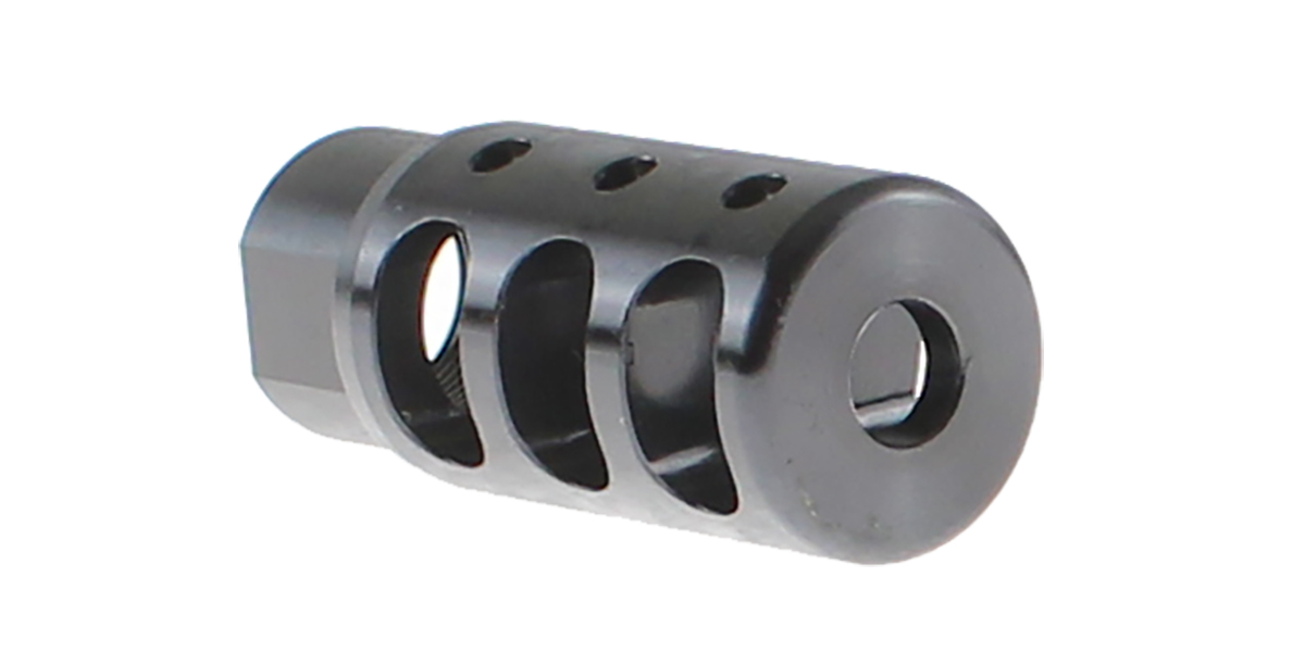 Recoil Technologies 3 Port Competition Style Muzzle Device - 5/8x24