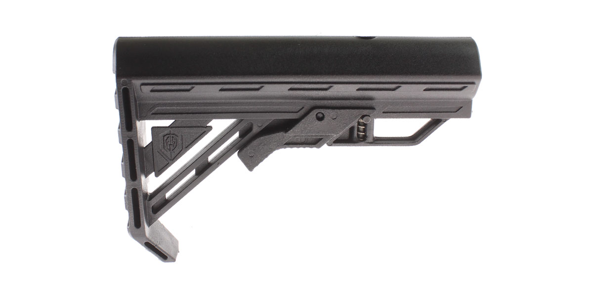 Davidson Defense AR-15 'Genesis' Stock - Black Nylon - Made in the USA