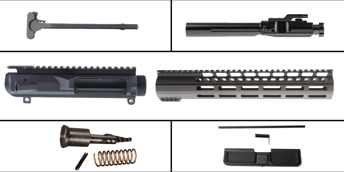 Delta Deals LR-308 Upper Build Starter Kit Featuring: Low Profile DPMS Upper Receiver, Low Profile 12