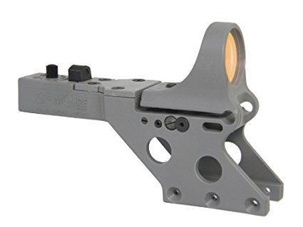 C-MORE Systems Serendipity Red Dot Sight with Standard Switch - Grey