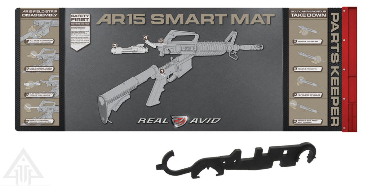 Delta Deals Real Avid Smart AR-15 Cleaning Mat + Armorers Wrench