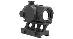 United Defense Dual Illuminated Red Dot with Riser Mount