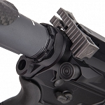 Fortis Lightweight Enhanced AR15 End Plate-K1 System - Black