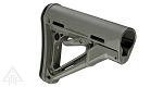 Magpul Industries, CTR Stock, Fits AR-15, Fits Commercial, Gray Finish tube