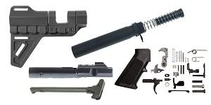 Trinity Force Breach Brace AR-15 Finish Your 9mm Pistol Kit