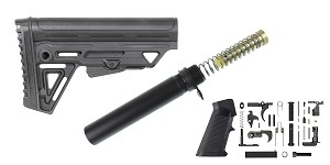 Delta Deals AR-15 Trinity Force MK2 Stock Finish Your Lower Rifle Kit