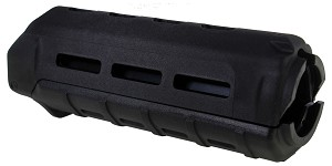 Magpul Industries, MOE M-LOK Drop-in Handguard, Fits AR-15, Carbine Length, Polymer Construction, Features M-LOK Slots, Black Finish