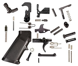 KAK Industries Complete Mil-Spec Lower Parts Kit (LPK)